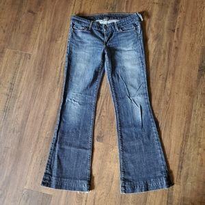 CoH #87 Dunaway Low Waist Full Leg Jeans